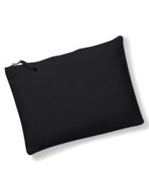 Canvas Accessory Pouch - Black - S
