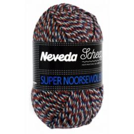 Super Noorse Extra 50gr - 1707 Rood, Blauw, Grijs