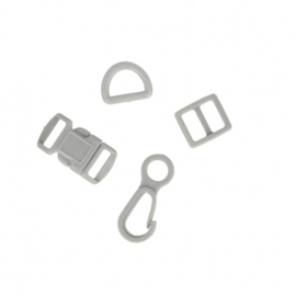 Complete bundel accessoires - grijs
