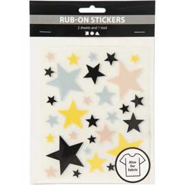 Rub-on Sticker, sterren