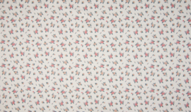 Flowers - Ecru (poplin)