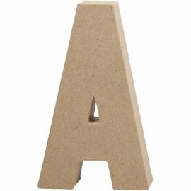 Letters van papier-maché - groot