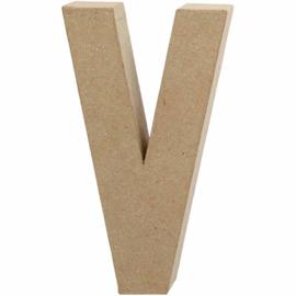 Letter V - 20 cm