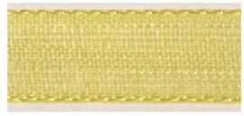 Lint - Organza - geel - 15mm - 5 meter