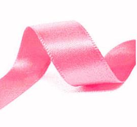 Lint - Satijn - roze - 6mm - 5 meter