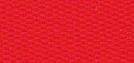 Lint - taft - rood - 15mm - 10 meter
