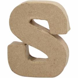 Letter S - 10 cm