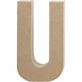 Letter U - 20 cm
