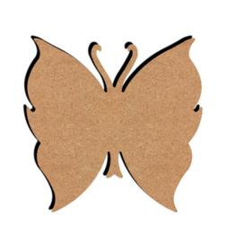 MDF Vlinder 2 - klein