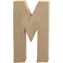 Letter M - 20 cm