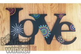 Hippe Stippen - voorbeeld Love