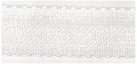 Lint - Organza - wit - 15mm - 5 meter