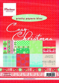 Marianne Design pretty papers bloc A5 - Cosy Christmas
