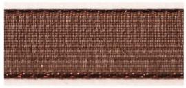 Lint - Organza - bruin - 15mm - 5 meter