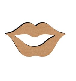 MDF Lippen - klein