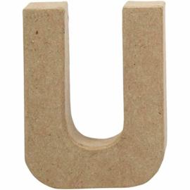 Letter U - 10 cm