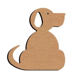 MDF Hond - klein
