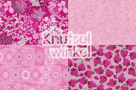 Decopatch papier mix roze