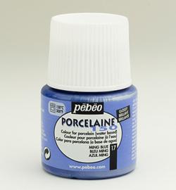 Pebeo porseleinverf - glossy - ming blue 17