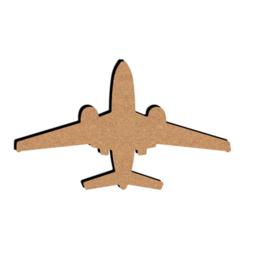 MDF Vliegtuig - klein