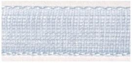Lint - Organza - lichtblauw - 15mm - 5 meter