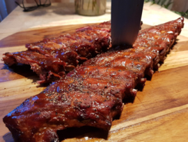 Spare ribs per hele streng