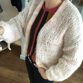 Bernadette vest Pastel