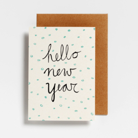 POSTCARD - HELLO NEW YEAR