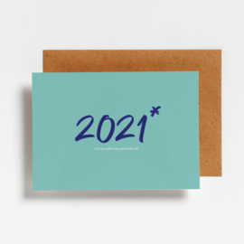 6 'WAKE ME UP IN 2021' POSTCARDS