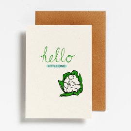 POSTCARD - HELLO LITTLE ONE