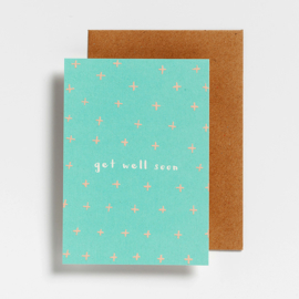 POSTCARD - GET WELL SOON