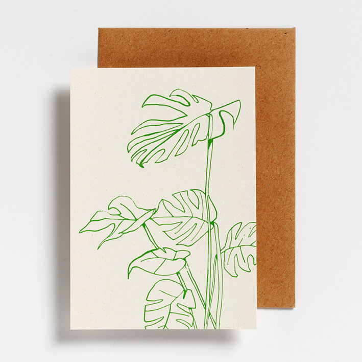 POSTCARD - MONSTERA