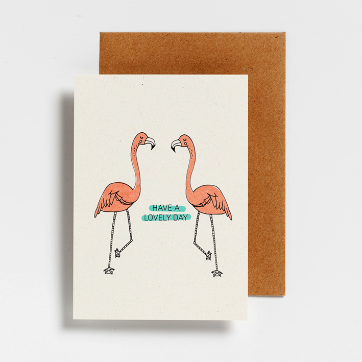 POSTCARD - HAVE A LOVELY DAY