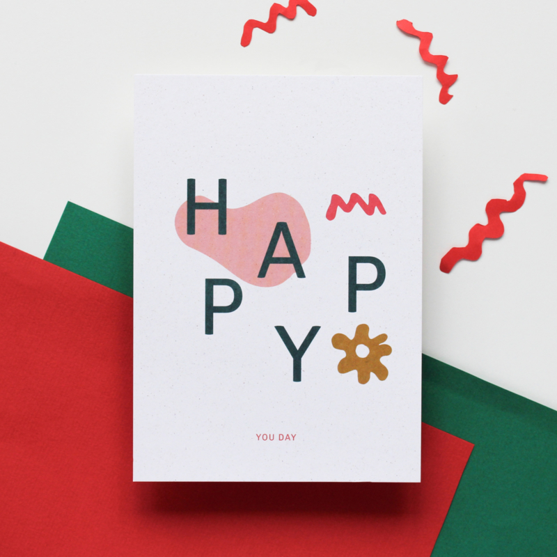 POSTCARD - HAPPY YOU DAY