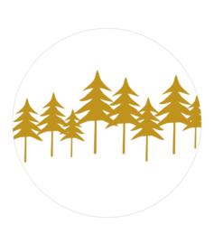 Stickers Woodland (10 stuks)