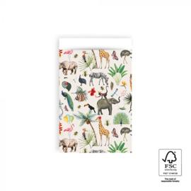 Cadeauzakje M |  Jungle (5 stuks)