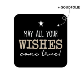 Stickers   May all your wishes come true (10 st)