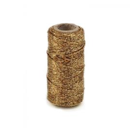 Klos bakkerstouw goud (25m)