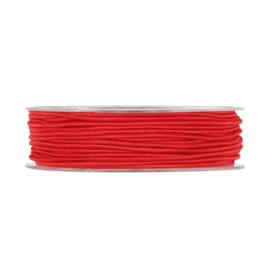 Elastisch koord rood (3m)