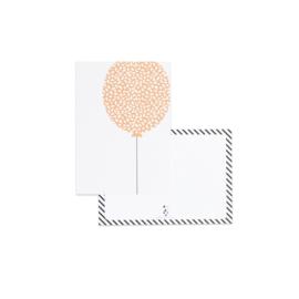 Ansichtkaart | ballon