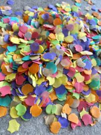 Confetti gekleurd