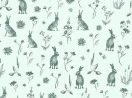 Cadeaupapier | Mister Rabbit mint