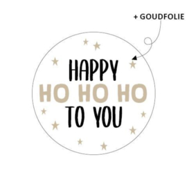 Stickers   Happy Ho Ho Ho to you
