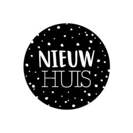 Sticker Nieuw huis (10st)