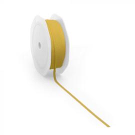 Stoffen lint geel dun (3m)