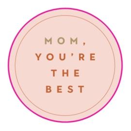 Sticker Mom, you're the best (10st)