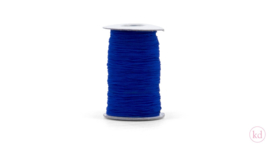 Elastisch koord felblauw (3m)