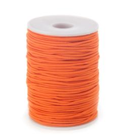 Elastisch koord oranje (3m)