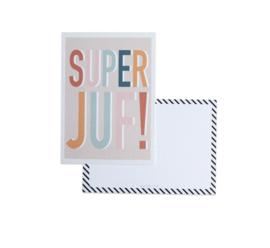 Ansichtkaart Super juf