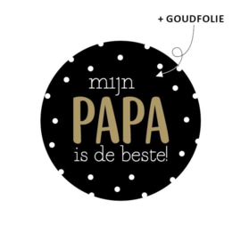 Stickers | Mijn papa is de beste! (10 st)